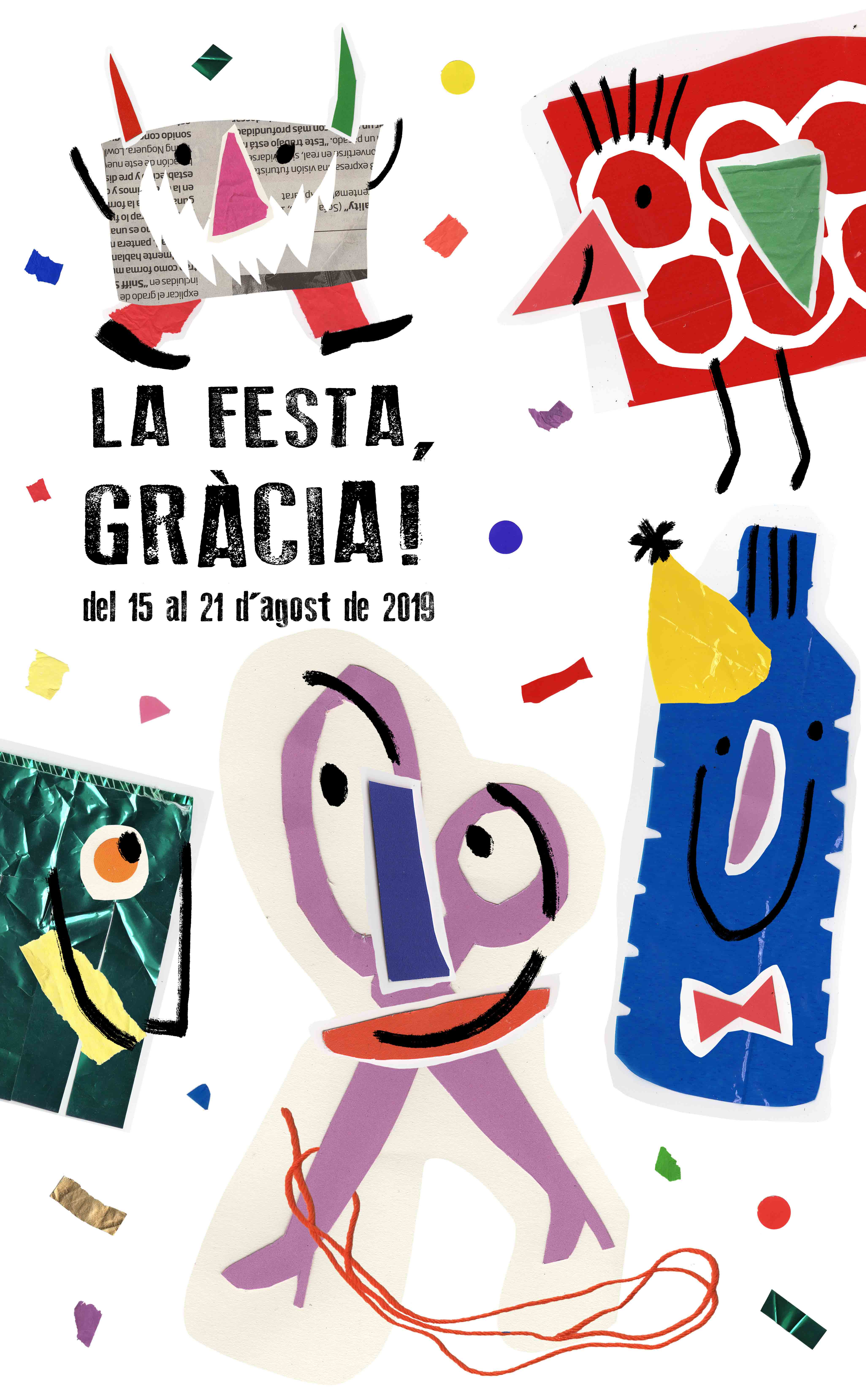 cartell - poster festa de gracia 2019